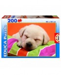 Puzzle Educa - Sweet Puppy, 200 piese (15621)