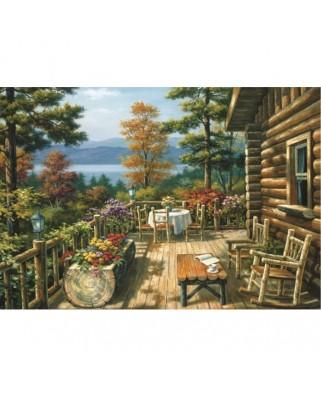 Puzzle Educa - Sung Kim: Veranda, 1500 piese (15811)