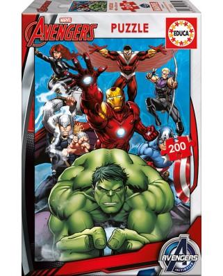 Puzzle Educa - Avengers, 200 piese (15933)