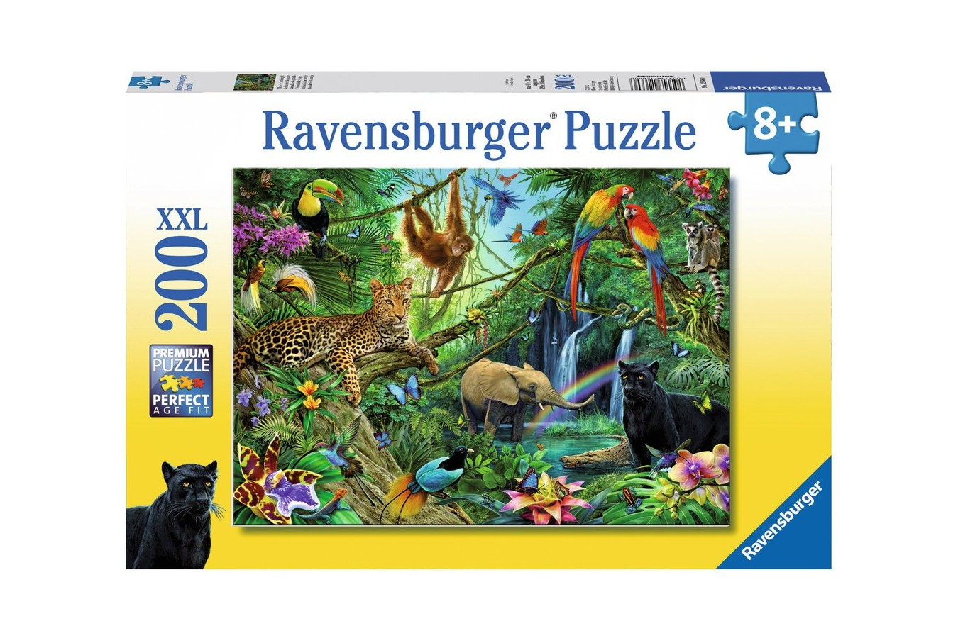 Puzzle Ravensburger - Jungla, 200 piese (12660)