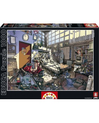 Puzzle Educa - Arly Jones, Spring, 1000 piese (15983)