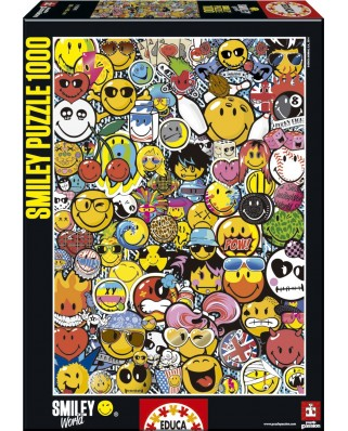 Puzzle Educa - Smiley World, 1000 piese (15998)