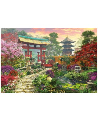 Puzzle Educa - Dominic Davison: Japanese garden, 3000 piese (16019)