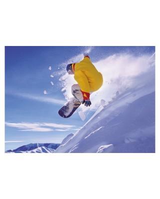 Puzzle Educa - Snowboard, 500 piese, include lipici puzzle (16273)