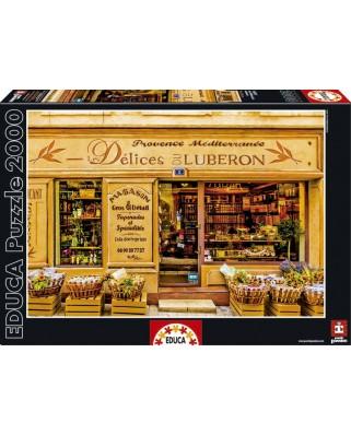 Puzzle Educa - Delices du Luberon, 2000 piese, include lipici puzzle (16317)