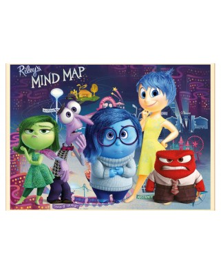 Puzzle Educa - Disney Pixar - Inside out, 500 piese, include lipici puzzle (16335)