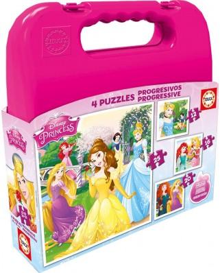Puzzle Educa - Disney Princess, 12/16/20/25 piese (16508)