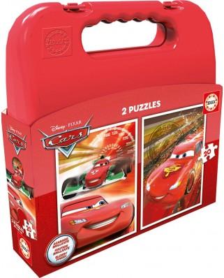 Puzzle Educa - Cars, 2x20 piese (16509)