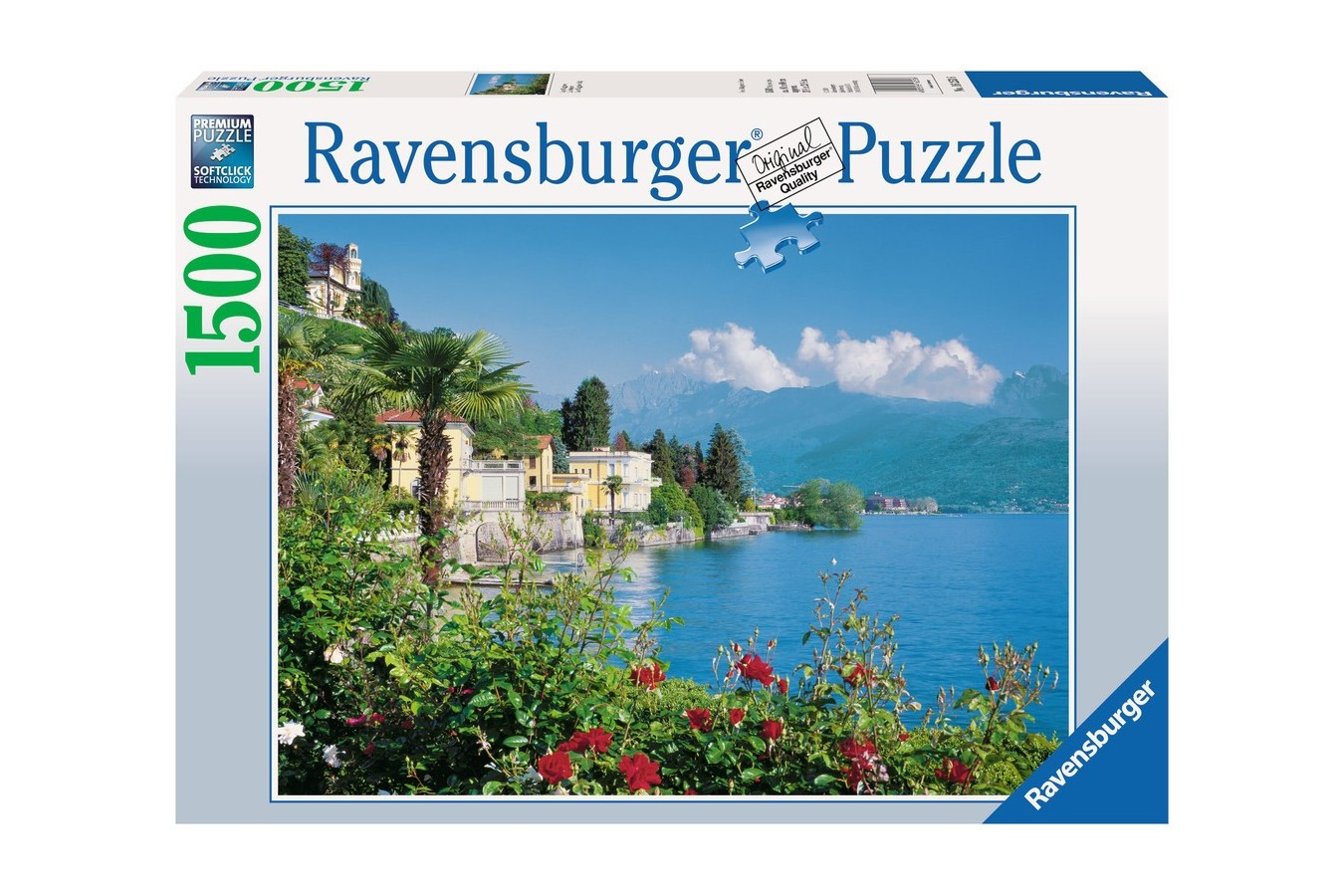 Puzzle Ravensburger - Lacul Maggiore - Italia, 1.500 piese (16253)