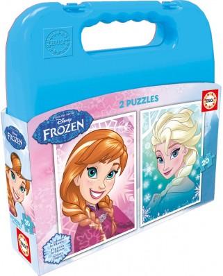 Puzzle Educa - Frozen, 2x20 piese (16511)