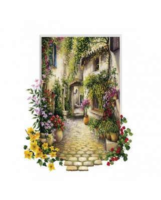 Puzzle Educa - In the Small Flower Village, 1000 piese (16652)