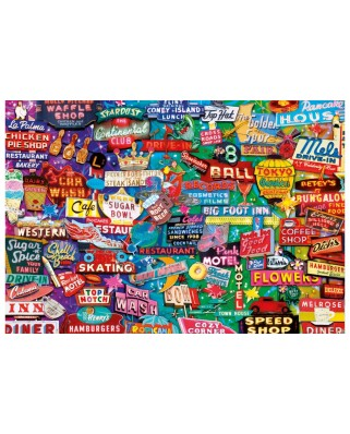 Puzzle Educa - Neon Dream, 1000 piese, include lipici puzzle (16753)