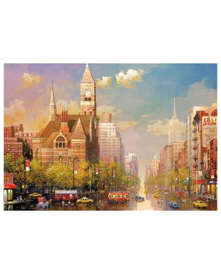 Puzzle Educa - Alexander Chen - New York Afternoon, 6000 piese (16783)