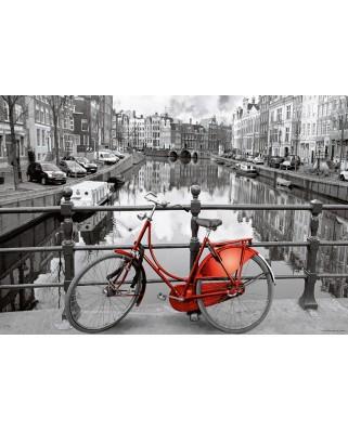 Puzzle Educa - Amsterdam Mini, 1000 piese, include lipici puzzle (17116)