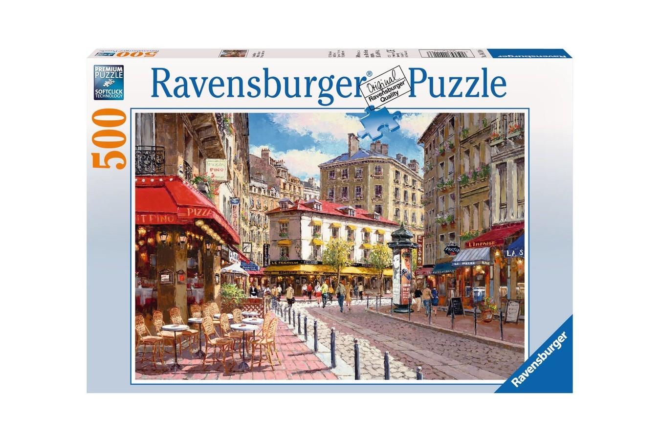 Puzzle Ravensburger - Magazine Pitoresti, 500 piese (14116)
