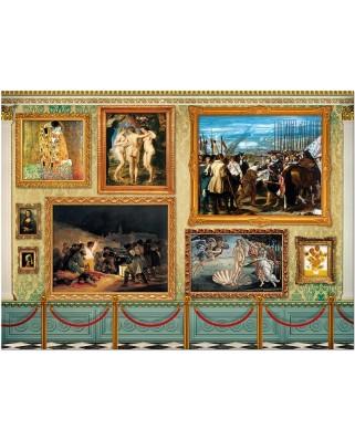 Puzzle Educa - Museum master pieces, 12000 piese (17137)