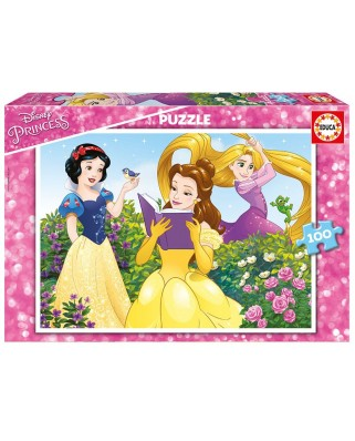 Puzzle Educa - Disney Princess, 100 piese (17167)