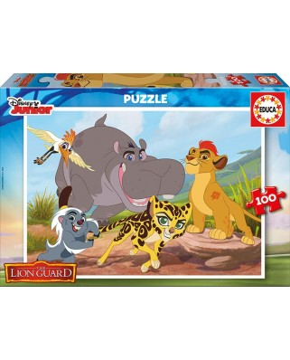 Puzzle Educa - The Lion Guard, 100 piese (17169)
