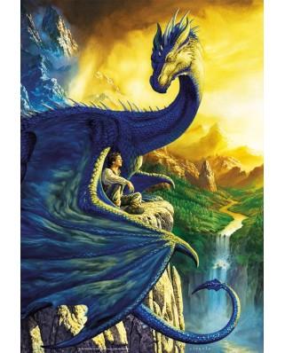 Puzzle Educa - Eragon & Saphira, 500 piese, include lipici puzzle (17311)