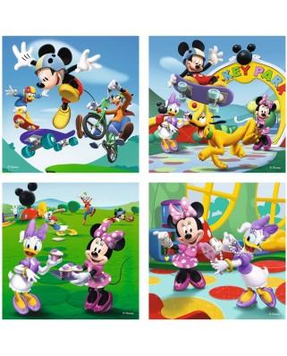 Puzzle Ravensburger - Mickey Si Prietenii, 2x25 piese (07214)