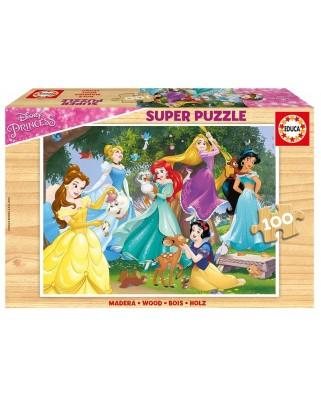 Puzzle Educa - Disney Princess, 100 piese (17628)