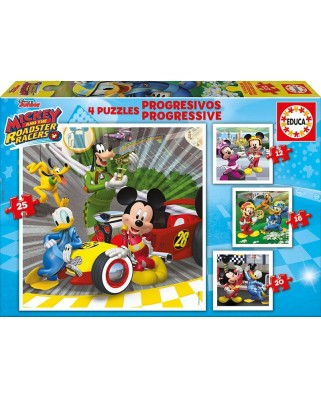 Puzzle Educa - Mickey and the Roadster Racers, 12/16/20/25 piese (17629)