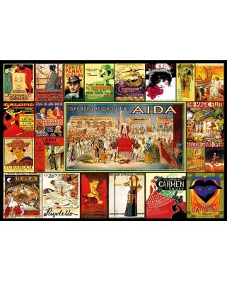 Puzzle Educa - Collage of operas, 3000 piese (17676)