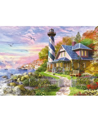 Puzzle Educa - Lighthouse at Rock Bay, 4000 piese (17677)