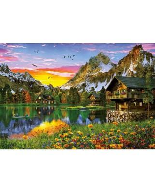 Puzzle Educa - Alpine lake, 5000 piese (17678)