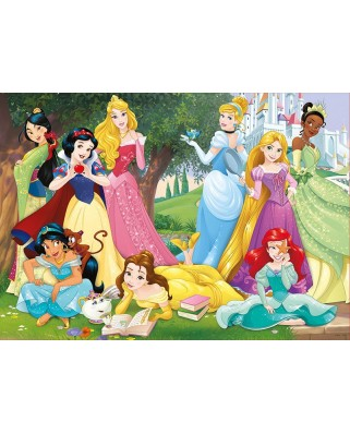 Puzzle Educa - Disney Princesses, 500 piese, include lipici puzzle (17723)