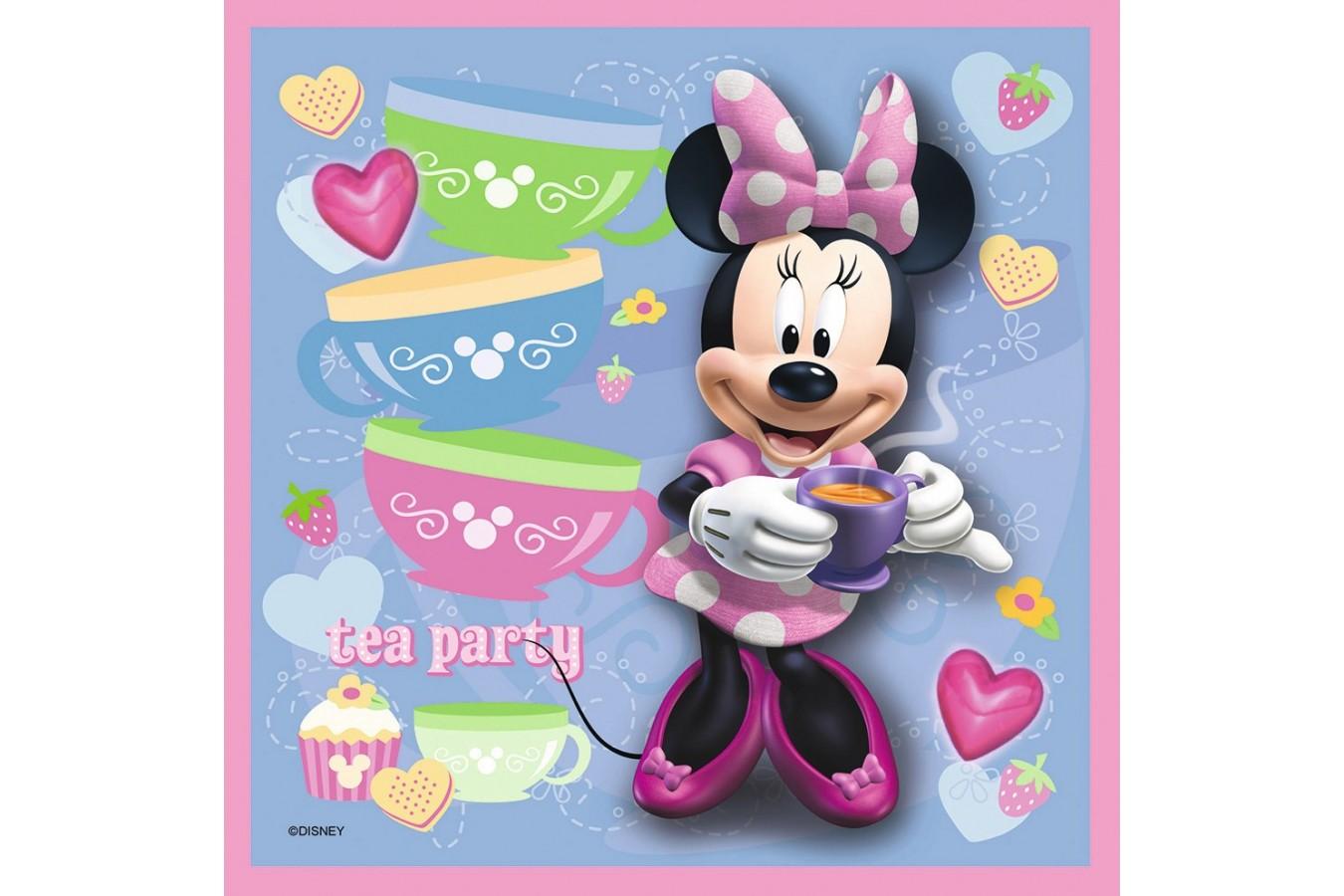 Puzzle Ravensburger - Minnie Mouse, 2x25 piese (07283)