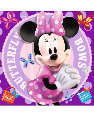 Puzzle Ravensburger - Minnie Mouse, 25/36/49 piese (07244)