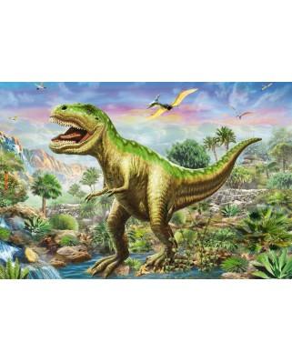 Puzzle Schmidt - Aventurile dinozaurilor, 3x48 piese, include 1 poster (56202)