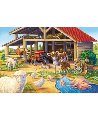 Puzzle Schmidt - Animalele mele favorite, 3x48 piese, include 1 poster (56203)
