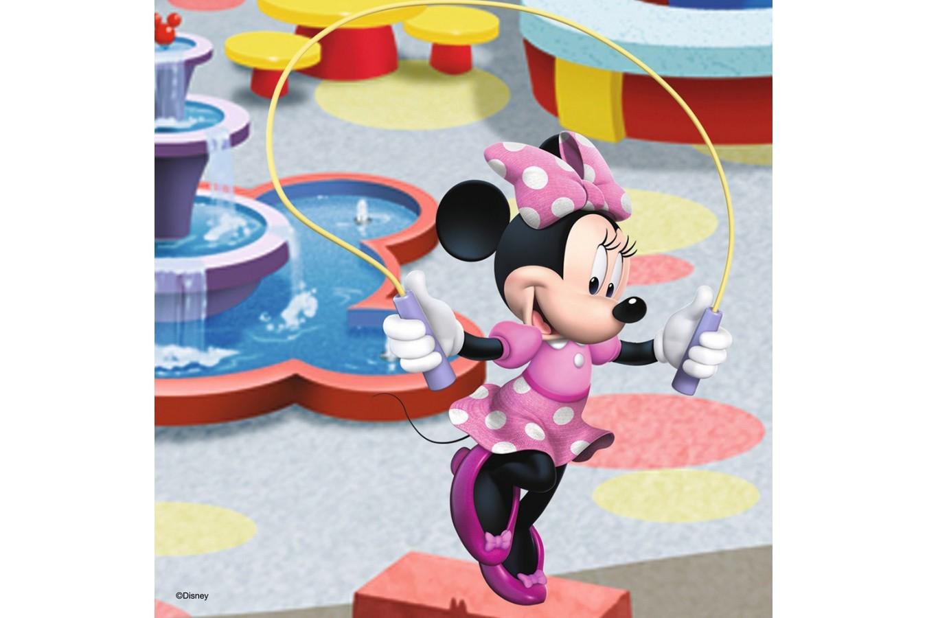 Puzzle Ravensburger - Minnie Mouse, 3x49 piese (09416)