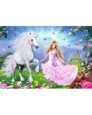Puzzle Schmidt - Printesa unicornului, 100 piese (55565)