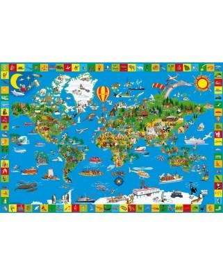 Puzzle Schmidt - Lumea minunata, 200 piese (56118)