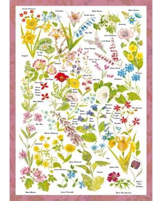 Puzzle Schmidt - Flori salbatice, 1.000 piese (59566)