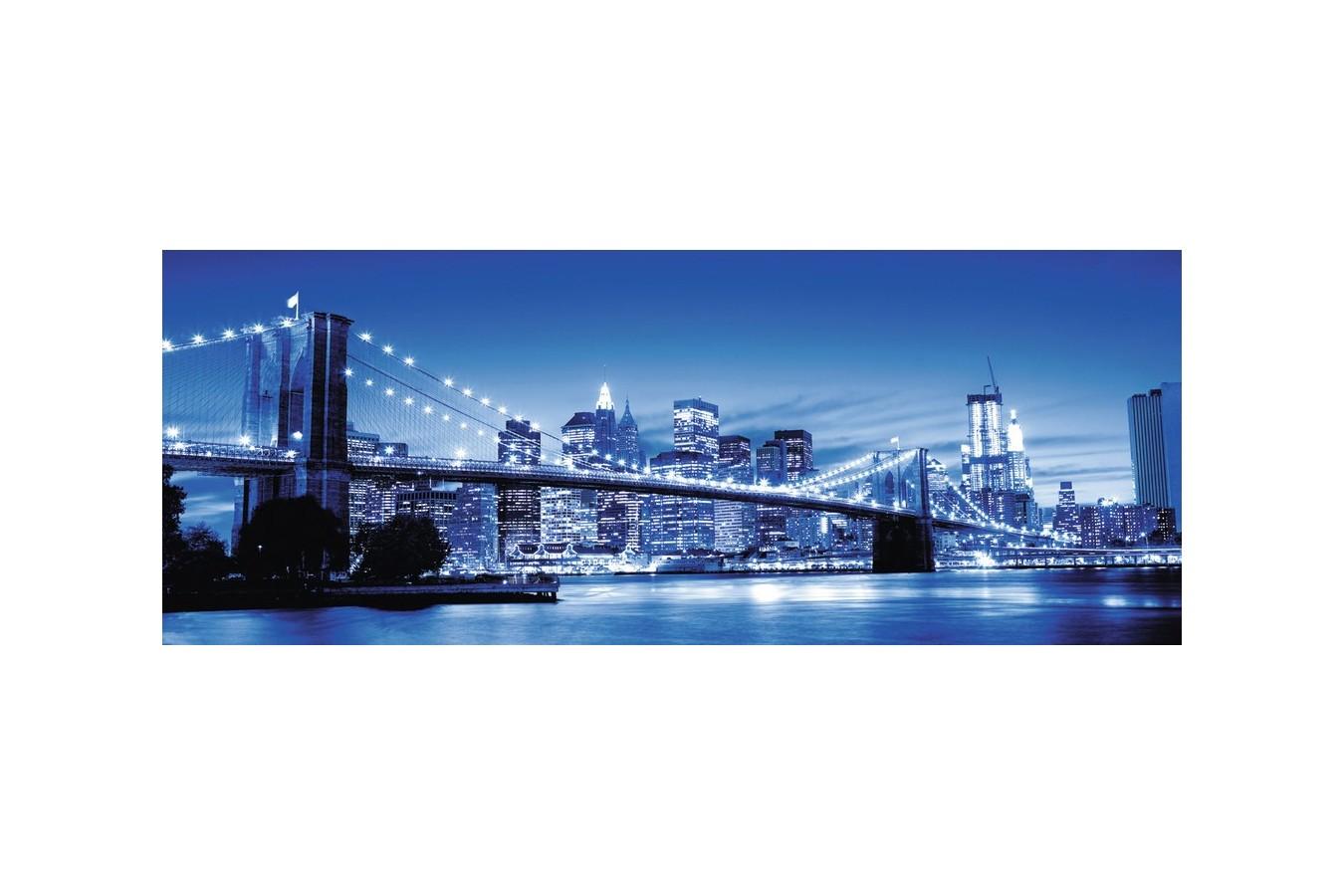 Puzzle panoramic Ravensburger - Minunatul New York, 1.000 piese (15050)