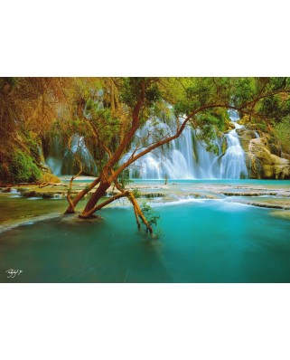 Puzzle Schmidt - Rodney Lough: Canyon Song - Rezervatia Indiana Havasupai, Arizona, 1.000 piese (59387)