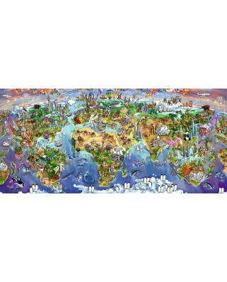 Puzzle Ravensburger - Minunile Lumii, 2.000 piese (16698)