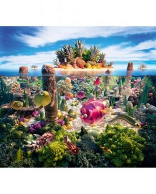 Puzzle Schmidt - Carl Warner: Insulele din Marea Sudului, 1.000 piese (59372)