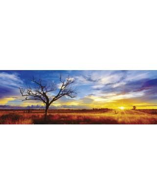 Puzzle panoramic Schmidt - Desertul Oak in lumina apusului, 1000 piese (59287)