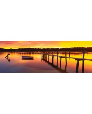 Puzzle panoramic Schmidt - Merimbula, New South Wales, Australia, 1.000 piese (59307)