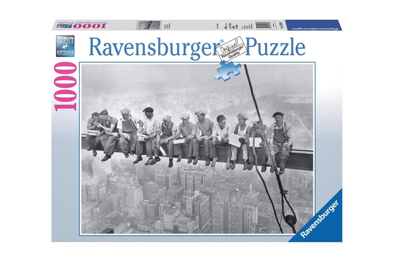 Puzzle Ravensburger - Momentul Pranzului In 1932, 1.000 piese (15618)