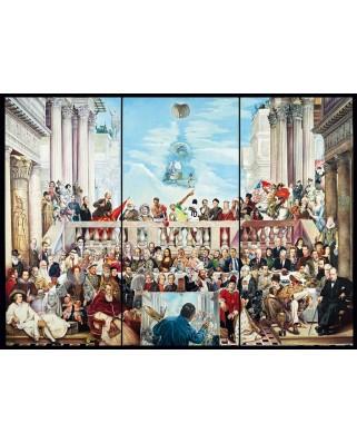 Puzzle Schmidt - Renato Casaro: Astfel trece slava lumii, 3.000 piese (59270)