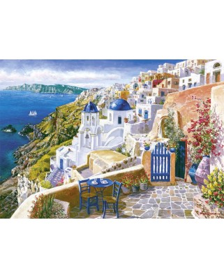 Puzzle Schmidt - Sam Park: Vedere din Santorini, 1.000 piese (58560)