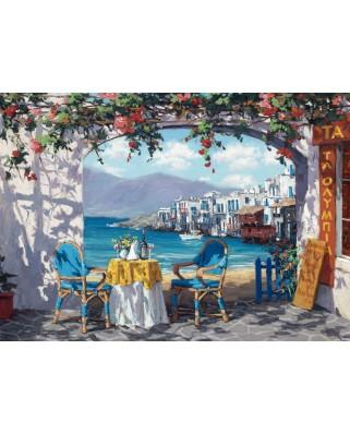 Puzzle Schmidt - Sam Park: Intalnire in Mykonos, 1.000 piese (59396)