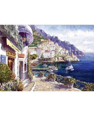 Puzzle Schmidt - Sam Park: Dupa-masa in Amalfi, 2.000 piese (59271)