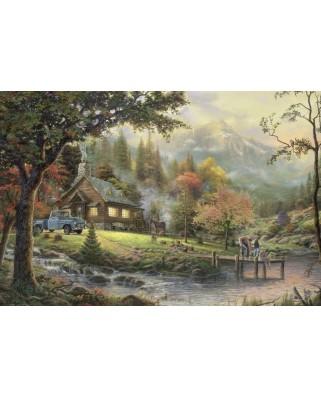 Puzzle Schmidt - Thomas Kinkade: Momente de pace, 500 piese (58465)